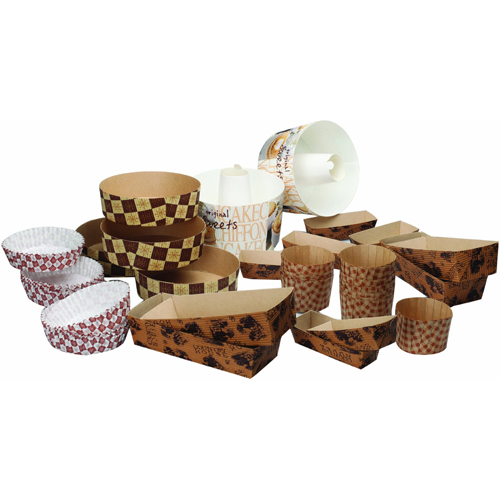 Welcome Home Brands 40-Piece Disposable Paper Pans Everyday Assortment Kit