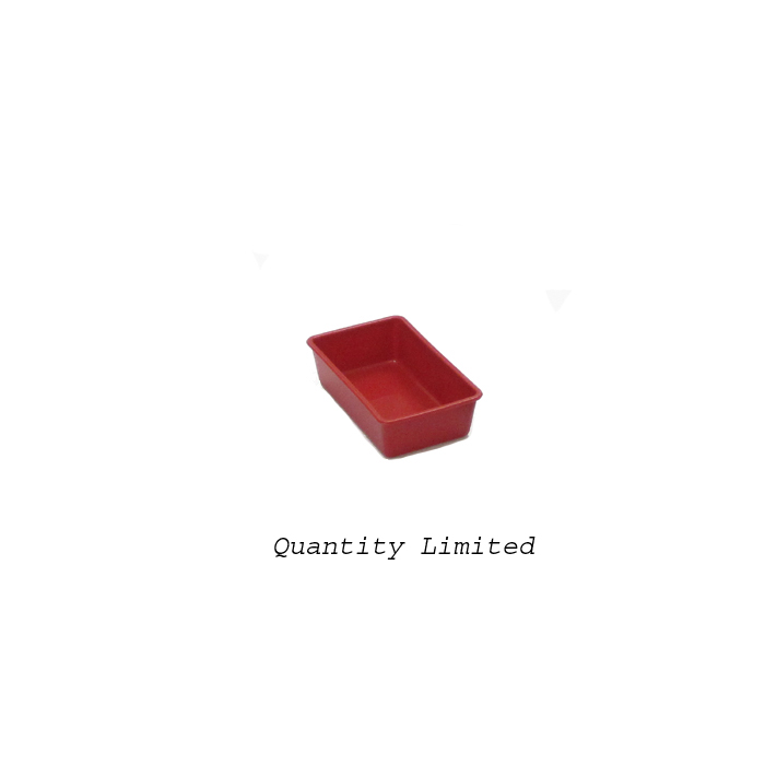 "Silicone Mini-Loaf Mold 2-3/4"" x 4-5/8"" x 1-1/4"" High"