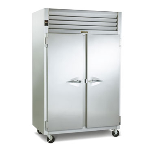 Traulsen 2-Door Reach-In Refrigerator  (Optional Casters)