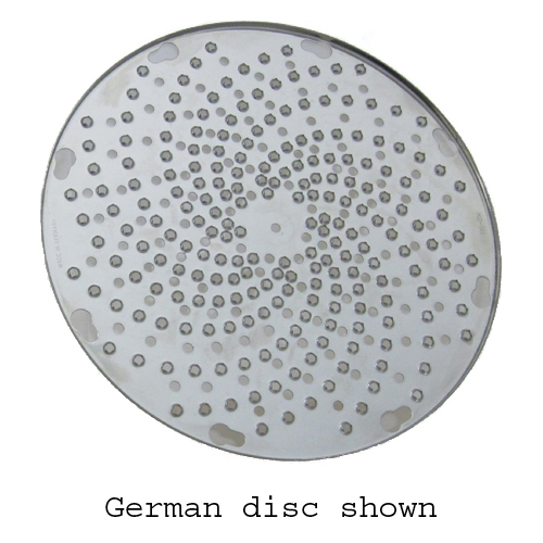 Grating Disc for Grater/Shredder Attachment - Made in Germany KD-GD