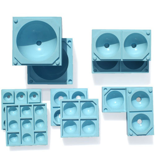 Silicone-Sphere-Sugar-Molds-Five-Molds Product Image 1379