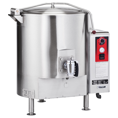 Vulcan GT100E Fully Jacketed Stationary Gas Kettle 100 Gal. GT100E