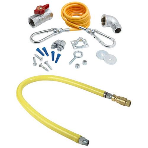 Ts Brass Hg Gas Connector Installation Kit Npt Hose
