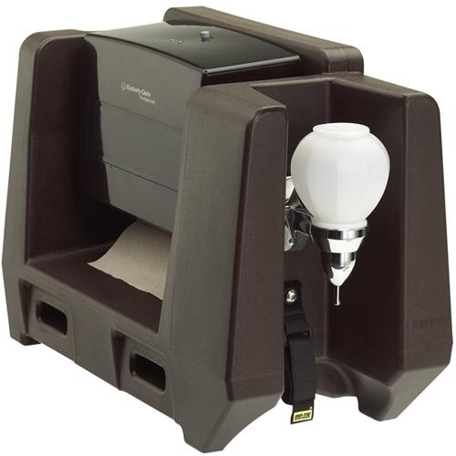 Money saving Cambro Hwatd Handwash Accessory Wmulti Fold Paper Towel Dispenser Dark Product Photo