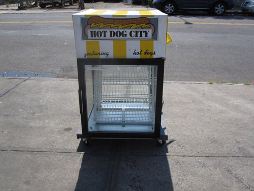 Hatco-Heated-Hot-Dog-Sausage-Display-Cabinet-Model-Fst-P-Used