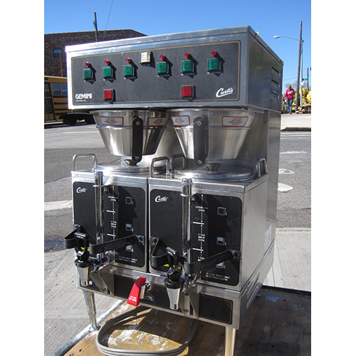 Curtis-Gemini-Gem-L-Coffe-Brewer-Maker-Used-Great-Condition Product Image 1018