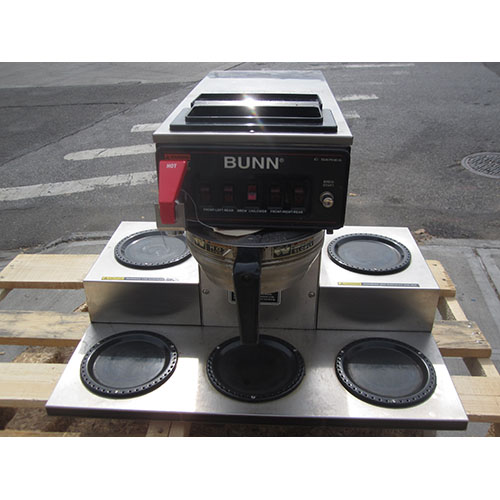 Bunn-Crtf-Automatic-Coffe-Brewer-Warmers-Used-Great-Condition Product Image 2149