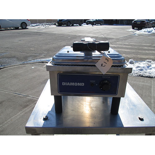 Diamond-Panini-Ribbed-Surface-Model-Sser-Used-Good-Condition Product Image 3640