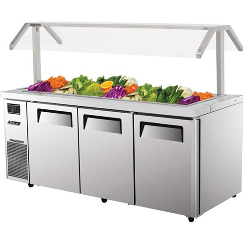 Money saving Turbo Air Refrigerated Buffet Display Table Product Photo