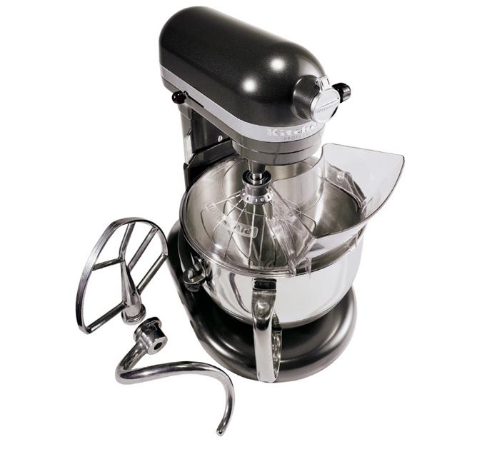 KitchenAid Professional 600 Series 6-Quart Stand Mixer, 575 Watts, w/  Pouring Shield - Dark Pewter