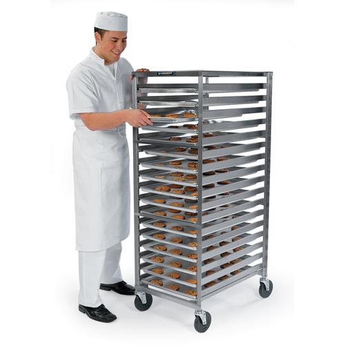 Lakeside 127 Stainless Steel Standard Pan & Tray Rack - 24 Trays 18 x 26 127