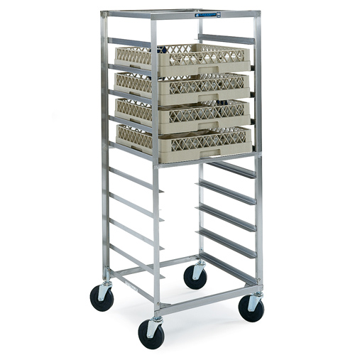 Lakeside S Glass Cup Rack Cart Trays Product Photo