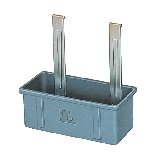 Lakeside 208-6 Gray Utility/Silver Box - 6 Pack 208-6