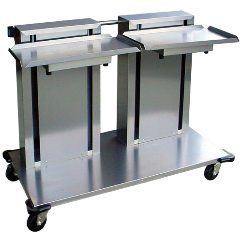 Lakeside-Mobile-Cantilever-Dispenser-Trays-Double-Platform Product Image 613