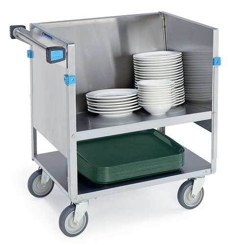 Lakeside Store Carry Stainless Steel Dish Cart Product Photo
