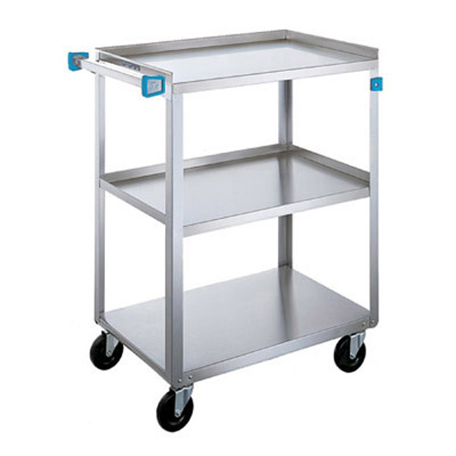 Lakeside 411 Stainless Steel Utility Cart - Med. Duty 15 1/2 x 24 411
