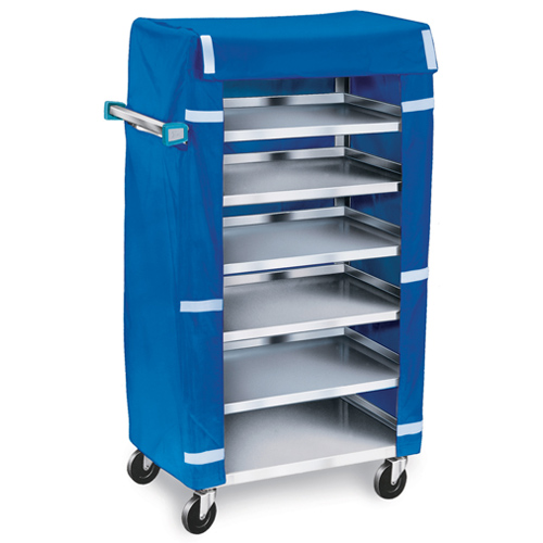 Lakeside-Stainless-Steel-Tray-Delivery-Cart-Tray-Cap-W-Cover Product Image 1988