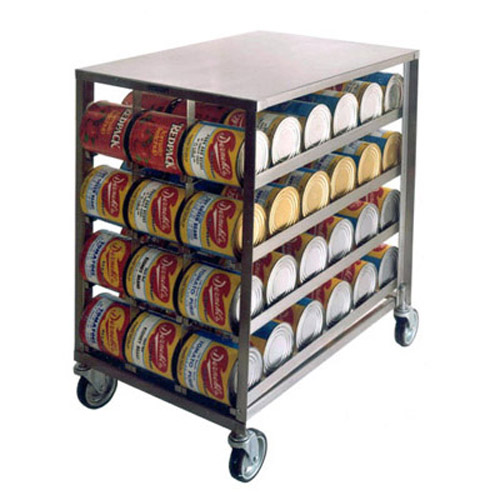 Lakeside-Stainless-Steel-Mobile-Can-Dispensing-Rack Product Image 1071