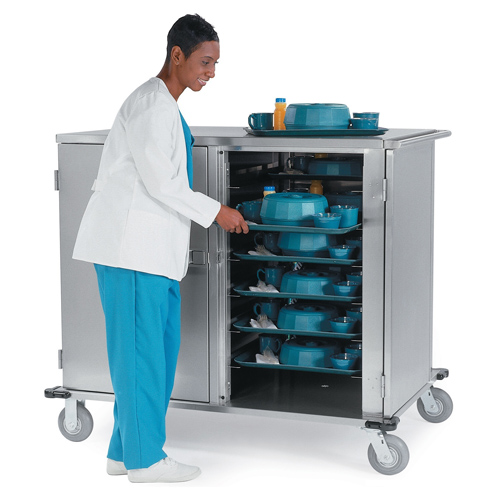 Distinctive Lakeside Low Profile Elite Tray Delivery Cart Tray Cap Recommended Item