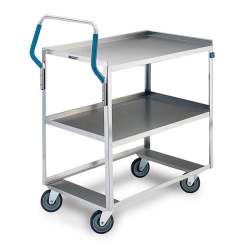 Lakeside-Ergo-One-Medium-Duty-Utility-Cart-Lb-Cap-Shelf-Size Product Image 1619