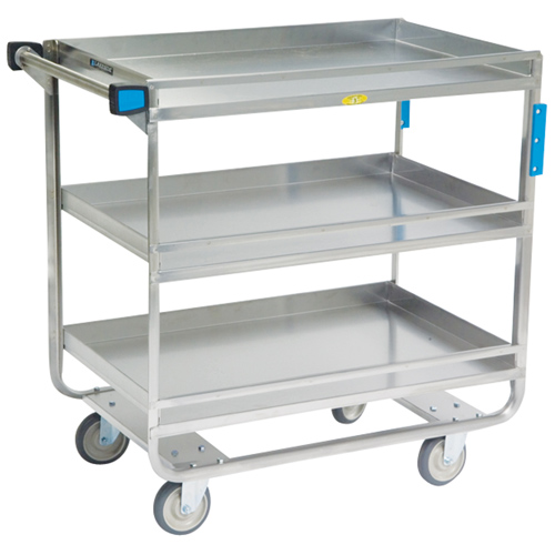Lakeside-Stainless-Steel-Guard-Rail-Utility-Cart-Shelf Product Image 1457