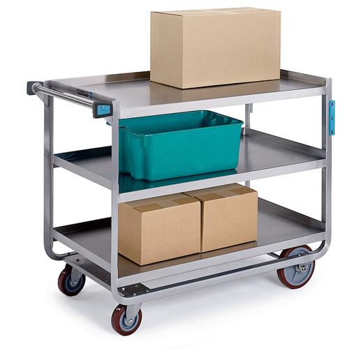 Beautiful Lakeside Tough Transport Utility Cart Cap Shelf Recommended Item
