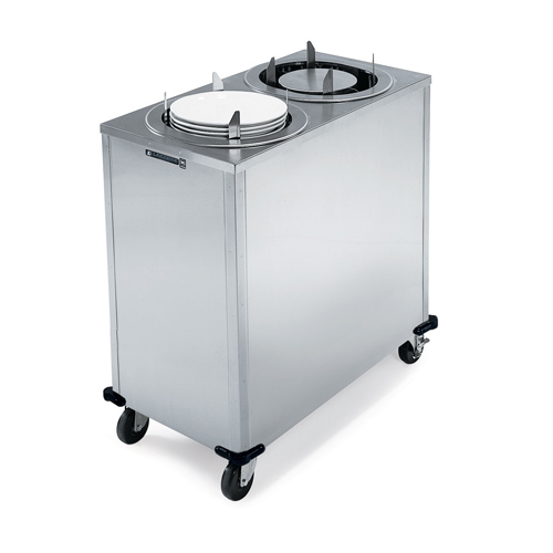 Lakeside Adjust A Fit Mobile Unheated Enclosed Cabinet Dish Dispenser Oval Platter