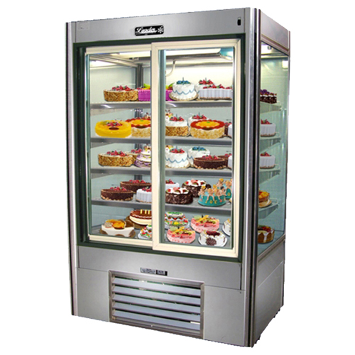 Leader Four View Sliding Doors Self Contained Glass Display