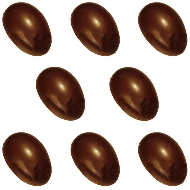 Polycarbonate Chocolate Mold Half-Egg 2-7/8