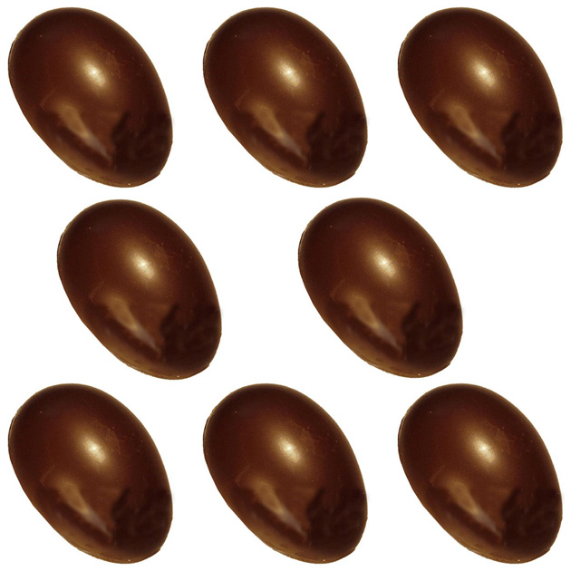 Polycarbonate Chocolate Mold Half-Egg 3-7/8