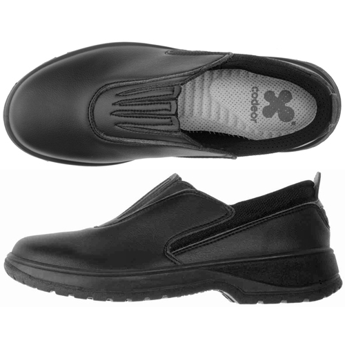Codeor Game-Style Comfort Work Shoes, Black - 37