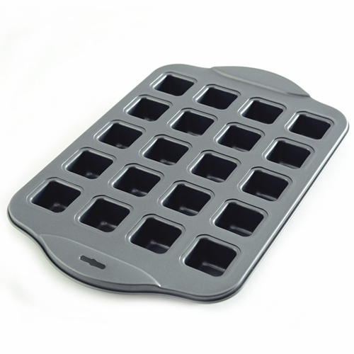 Norpro Non-Stick Petite-Brownie Pan, 20 Cavities 3962