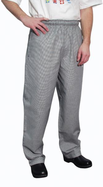 Chef Revival Houndstooth E-Z Fit Chef Pants 100% Cotton - 3X