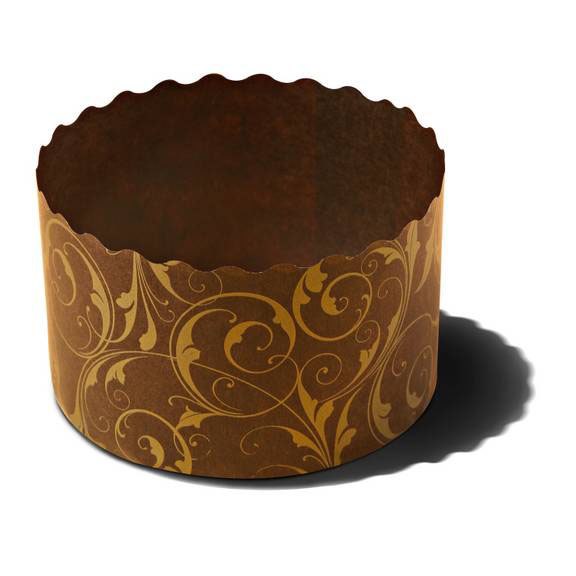Panettone Disposable Paper Baking Mold 2 11 16 X 2 High
