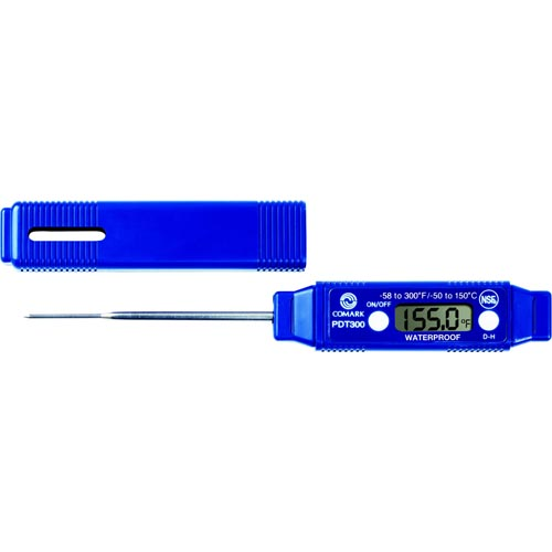 Comark Waterproof Pocket Digital Thermometer - PDT300
