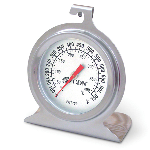 CDN High Heat Oven Thermometer High heat 100 to 750 degree