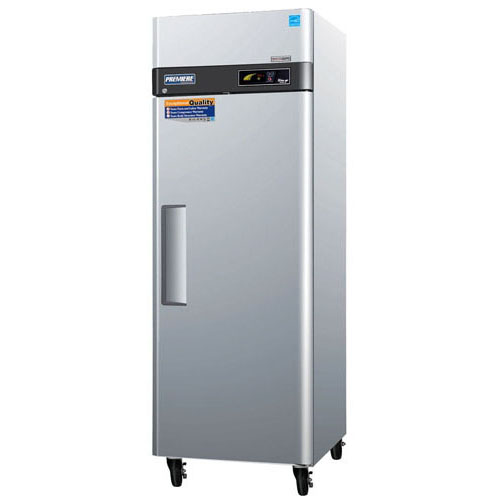 User friendly Turbo Air Premiere Solid Door Top Mount Freezer Cu Ft Product Photo