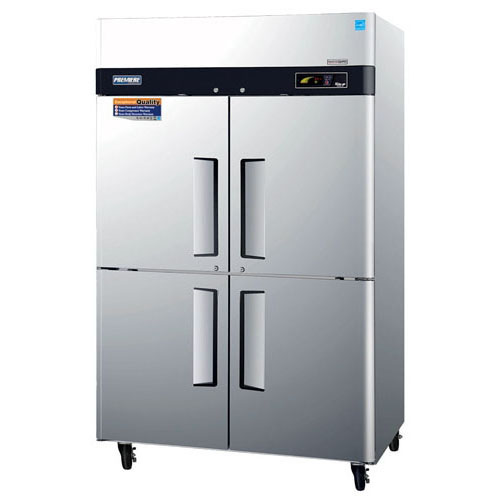 Turbo Air Premiere Half Doors Top Mount Refrigerator Product Photo