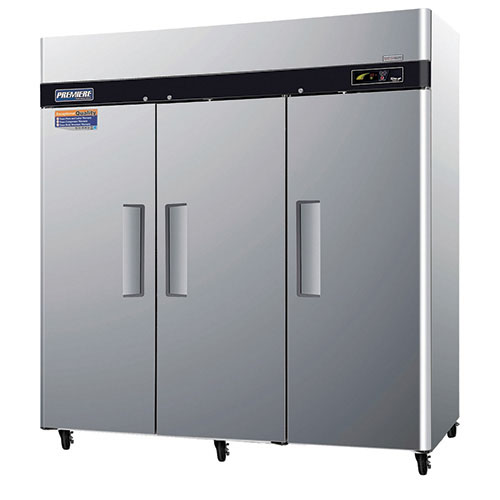 Turbo Air Premiere Door Top Mount Freezer Cu Ft Product Photo