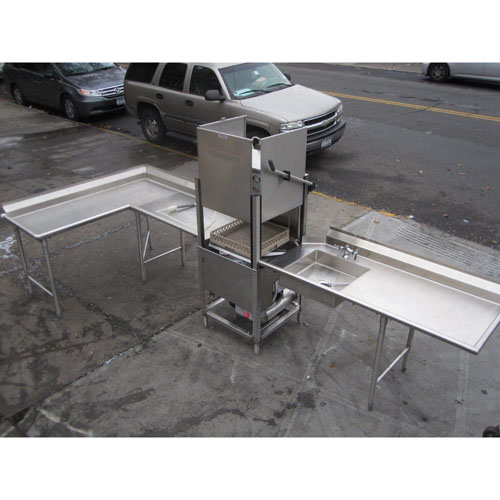 Champion Dishwasher Model # DHB With Tables Used Excellent Condition