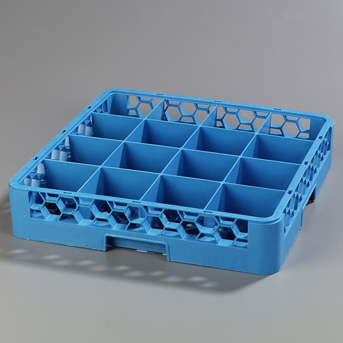Carlisle OptiClean 16-Compartment Cup Dish Rack RC1614