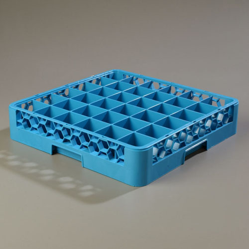 Carlisle OptiClean 36-Compartment Glass Dishwashing Dish Rack RG3614