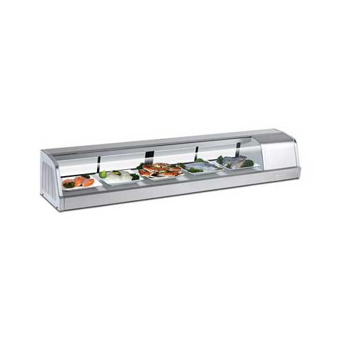 Turbo-Air-Refrigerated-Sushi-Case-Left Product Image 746
