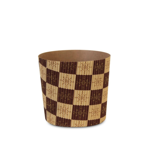 Welcome Home Brands Brown Stars Disposable Paper Baking Cup