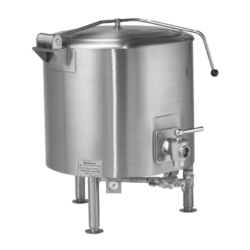 Vulcan ST100 Fully Jacketed Direct Steam Kettle 100 Gal. ST100