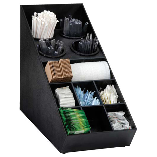 Dispense-Rite SWCH-1BT Silverware & Condiment Countertop Organizer SWCH-1BT