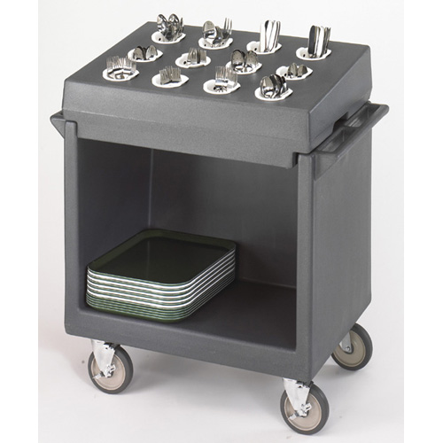 Cambro Tdcr Tray Dish Cart Cart Rack Combination Granite Product Photo