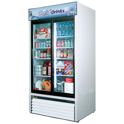User friendly Turbo Air R Sliding Glass Door Refrigerated Merchandiser Recommended Item