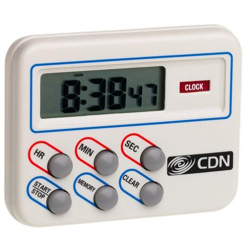 CDN TM8 Multi-Task Timer & Clock