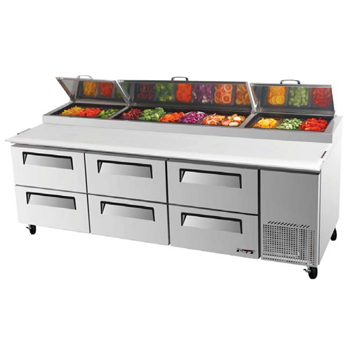 Turbo-Air-Super-Deluxe-Drawer-Pizza-Prep-Table-Cu-Ft Product Image 232